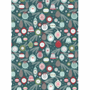 Lewis & Irene – Baubles on Winter Blue – Christmas Trees