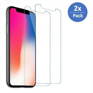 2x Pack Glas Screen Protector iPhone XR