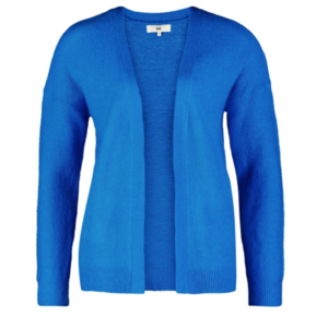 CKS cardigan Mareen , Royal blauw