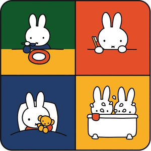 Miffy Education Square - Kreisy Speelmat