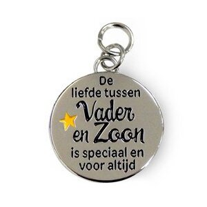 Bedeltje - Vader & zoon - Charms for you