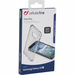 Cellularline Back Cover voor Samsung Galaxy A3 (2017) Transparant