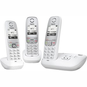 Gigaset A415A - Trio DECT telefoon - Antwoordapparaat - Wit