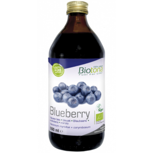 Biotona fuel for life blauwe bes (blueberry) 500 ml
