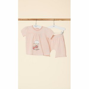Happy People Baby Pyjama: meisjes ( korte mouw ) ( HAP.21 )