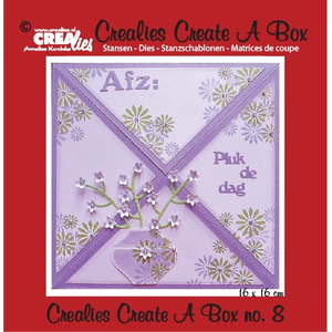 Crealies - Create a box card 8