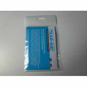 Tear-Aid type A reparatietape 30x7,6 in transparante verpakking