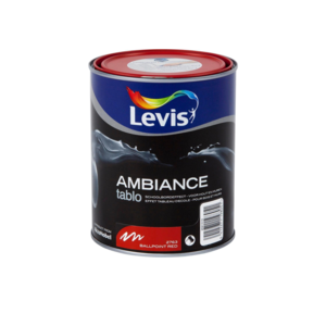 Levis Ambiance Tablo Ballpoint Red Extra mat 1L