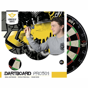 Longfield Darts CHINESE SISAL 'PRO 501' TOURNAMENT DARTBOARD