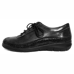 Hush Puppies Veterschoenen 9.Rinia zwart
