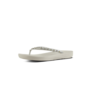 FitFlop Teenslippers Iqushion K39 Crystal zilver