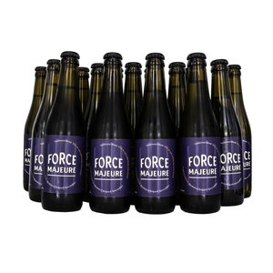 24 x Force Majeure Traditional Blond  33cl  Alcholvrij speciaalbier