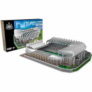 3D Puzzle Newcastele United: ST. James' Park 140 pieces