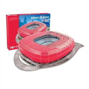 3D Puzzle Bayern Munchen: Allianz Arena 119 pieces