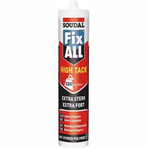 Soudal Fix All High Tack WIT 290ml - 12 KOKERS