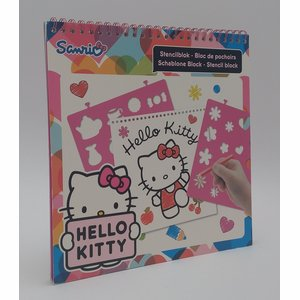 Sjabloonboek Hello Kitty