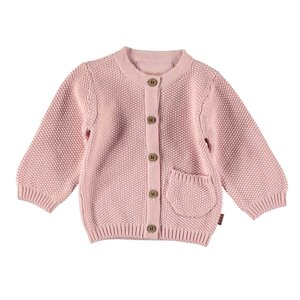 Cardigan Knitted-Pink-19880-007