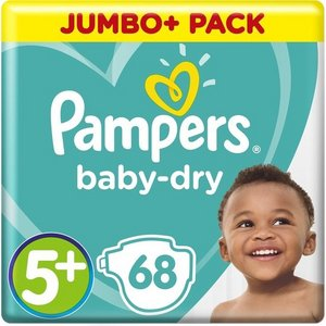 Pampers nr5+  Baby-Dry 68x