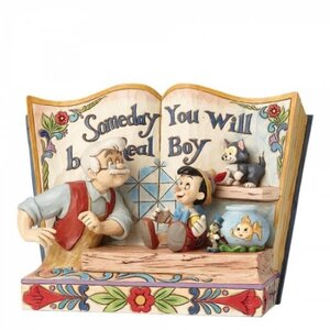 Disney Traditions - Someday You Will Be A Real Boy (Storybook Pinocchio)