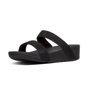 FitFlop Slippers R22 Lottie Glitzy Slide zwart