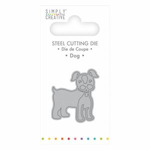Simply Creative - Dog die - 3,9 x 3,7 cm