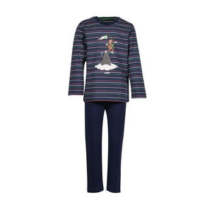 Woody Heren Pyjama Multicolor Gestreept 202-1-PLS-S/987