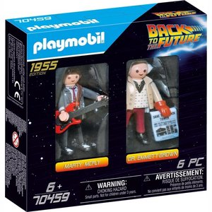 Playmobil Back to the Future DuoPack Marty McFly / Dr. Emmet