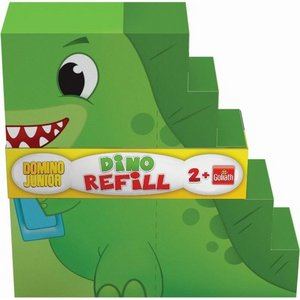 Goliath Domino Junior Twister Dino Refill 30 Dominostenen
