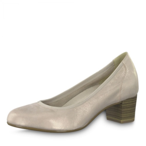 Tamaris Pumps 1-22301-22 beige metallic