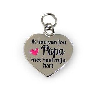 Bedeltje - Papa - Charms for you