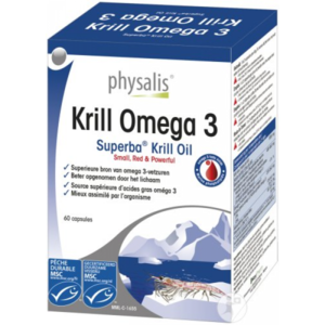Physalis Krill Omega 3 Voedingssupplement