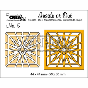 Crealies - Inside or out ster 5