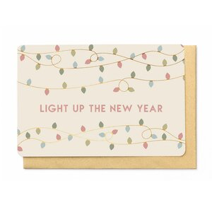 Wenskaart - Light up the New Year