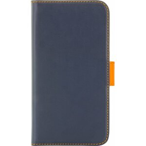 Holdit Samsung S6 Wallet Case - DarkBlue/Orange