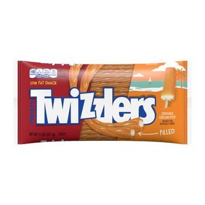 Twizzlers Orange Cream Filled 311 gr.