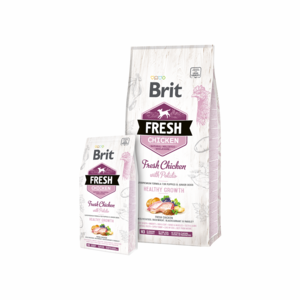 Brit Fresh Chicken with Potato for Puppies and Junior Dogs 2,5 kg