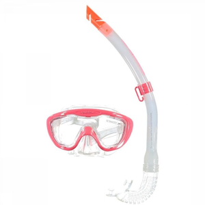 Speedo Snorkelset Glide Junior Rood