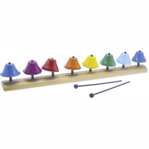 Metal Bells 8 Notes Best Sound Quality Toy Musical Instrument