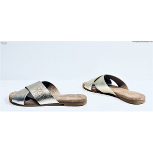 Maluo Women Slippers Jill Balkiss Gold