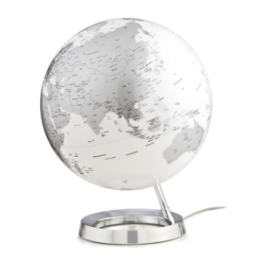 Atmosphere Wereldbol Design Light & Colour Metal Bright Chrome (en)