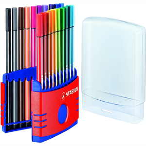 STABILO pen 68 colorparade rood
