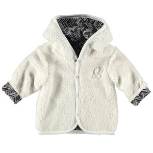 Cardigan Teddy Reversible-White-19878-001
