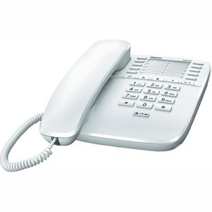 Gigaset DA510 corded desk phone - wit