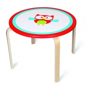 Scratch: Tafel rond uil Lou  6182311