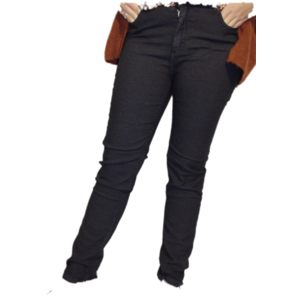 H20 Italia Jeans broek  Joy 003 ,Super high , slim fit Black gespikkeld
