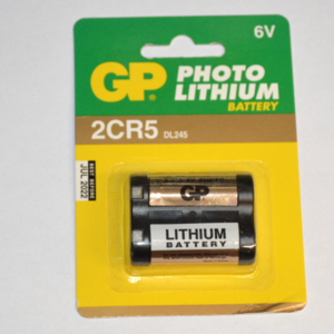 GP Photo lithium batterij 2CR5