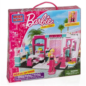 Mega Bloks Barbie Mode Boutique