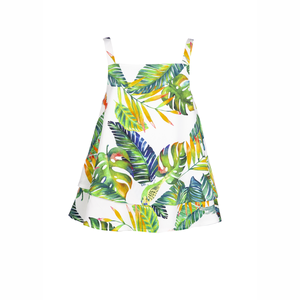Top/blouse tropical print