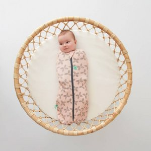 1.0 TOG - All season Ergococoon Swaddle + Sleep Bag Petals