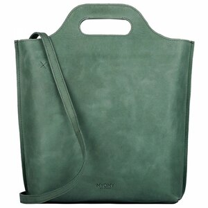 MYOMY My Carry Bag Shopper Medium hunter forest green